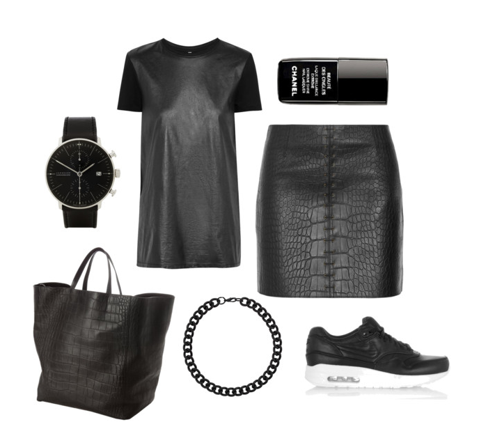 all black, all leather wishlist, what i wish i wore | A Living Diary