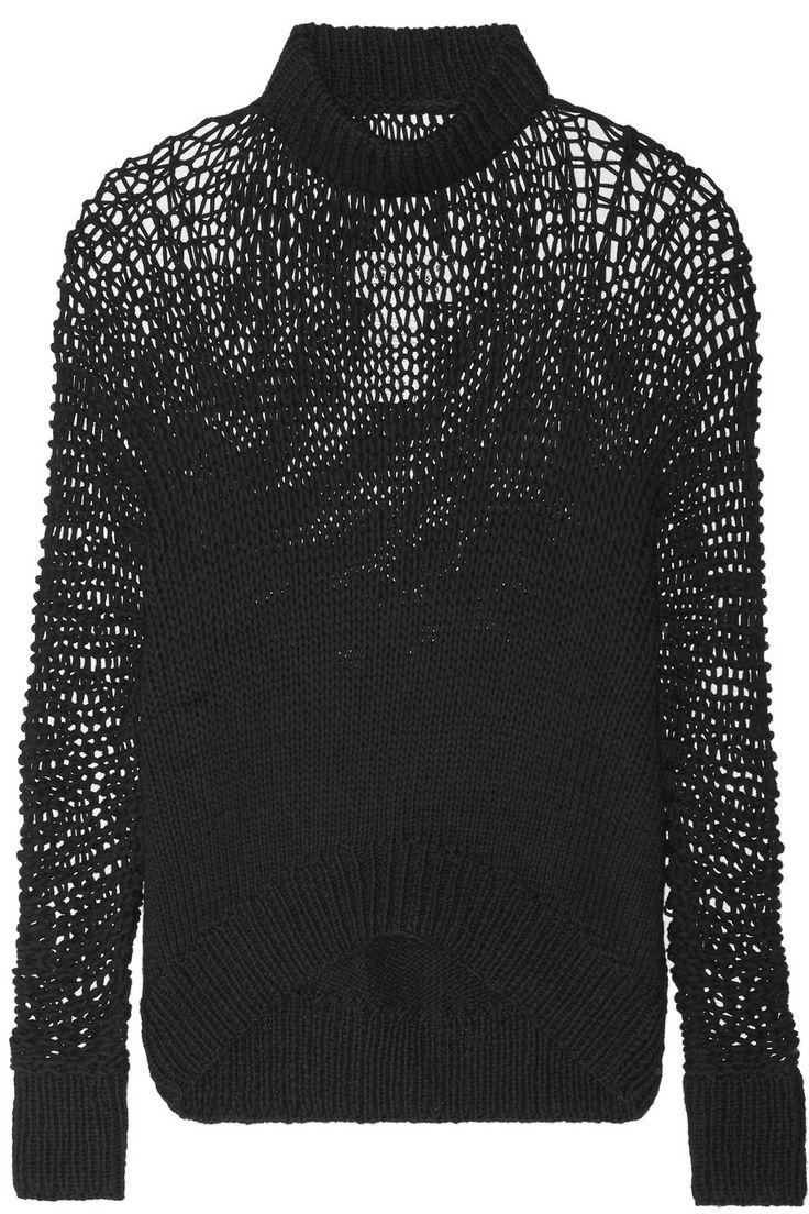 maison martin margiela, open knit jumper, chunky knit jumper, loose knit, mmm, mm6