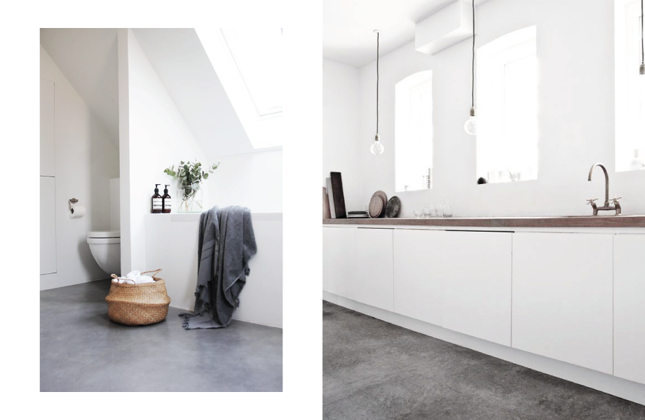The Beauty of Concrete Flooring | A Living Diary